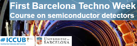 Barcelona TechoWeek 2016 - X-Ray, photodetectors and others
